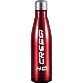 APOSTOLIDISDIVE CRESSI WATERBOTTLE H2O DoubleWall Red