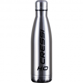 APOSTOLIDISDIVE CRESSI WATERBOTTLE H2O DoubleWall Silver