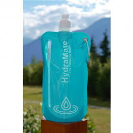swimcell HydraMate Foldable bottle Mountains